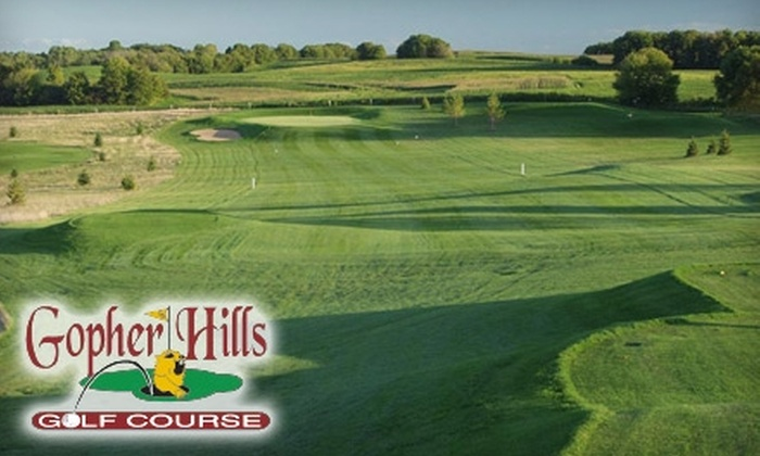 Gopher Hills Golf Course - Douglas: $20 for One Round of Golf and Cart Rental at Gopher Hills Golf Course in Cannon Falls