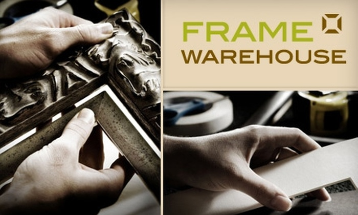 Frame Warehouse - Brookland: $40 for $100 Worth of Framing Services at Frame Warehouse