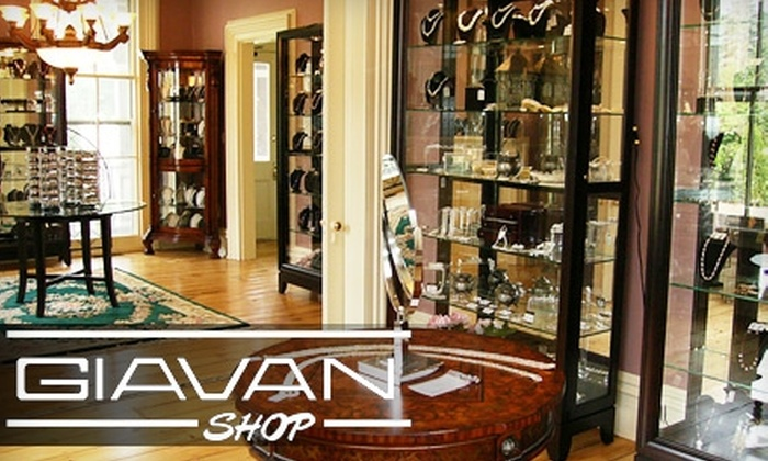 Giavan Jewelry - Oakland: $25 for $50 Worth of Swarovski Crystals, Bridal Headpieces, and Fashion Jewelry at Giavan in Oakland