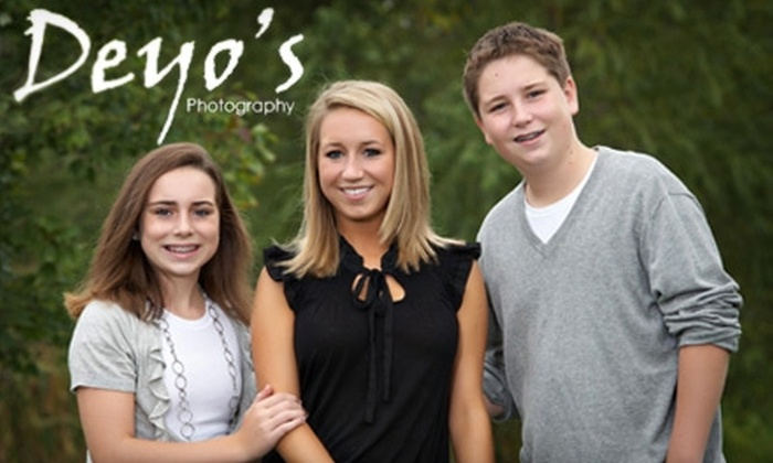 Deyo's Photography - Disney: $60 for a Family Portrait Session ($339 Value) or $50 for a Children's Portrait Session ($253 Value) at Deyo's Photography