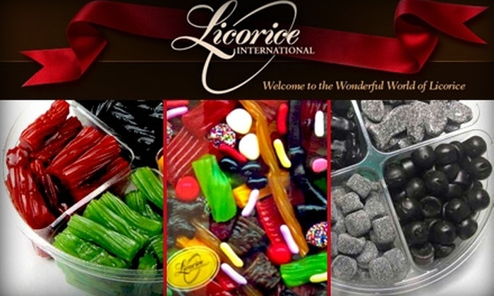 Licorice International - Downtown: $5 for $10 Worth of Gourmet Licorice and Candy at Licorice International