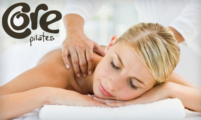 Core Pilates - Bayshore / Klatt: $40 for a One-Hour Therapeutic Massage at Core Pilates ($80 Value)