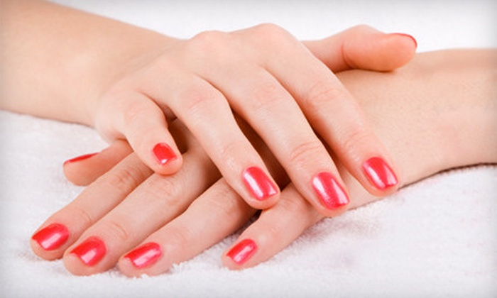 Air Salon & Spa - Fox Point: Nail Care Services at Air Salon & Spa (Up to 57% Off). Three Options Available