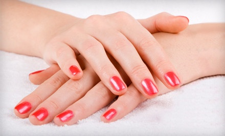 Shellac Manicure and Regular Pedicure (an $80 value) - Air Salon & Spa in Providence