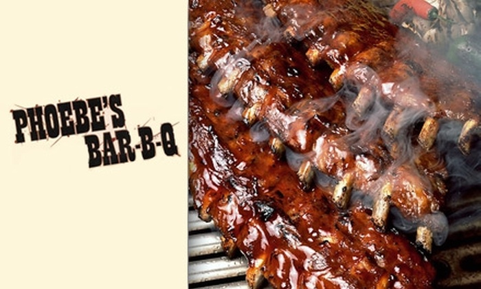Phoebe's Bar-B-Q - Fitler Square: $20 for $40 Worth of Smokehouse Fare at Phoebe's Bar-B-Q