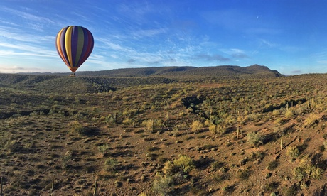 One-Hour Sunrise Hot Air Balloon Ride for One or Two from Arizona Balloons, Inc. (Up to 27% Off) 4210cb7a-728a-4ebb-9ddb-16e8e55355a7