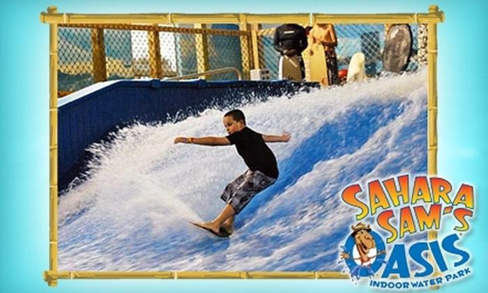 Sahara Sam's Oasis Indoor Water Park - Berlin: $15 for One-Day Water Park Admission at Sahara Sam's Oasis Indoor Water Park ($30.25 Value)