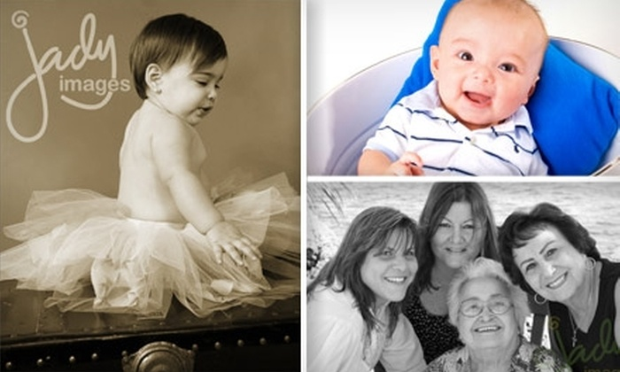 Jady Images - Glenvar Heights: $49 for a Photo Session, 8x10 Print, 4x5 Album, and CD of Images at Jady Images
