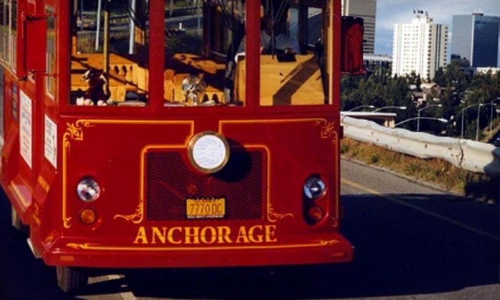Anchorage City Trolley Tours - Downtown: $15 for Two Adult Anchorage City Trolley Tour Tickets ($30 Value)