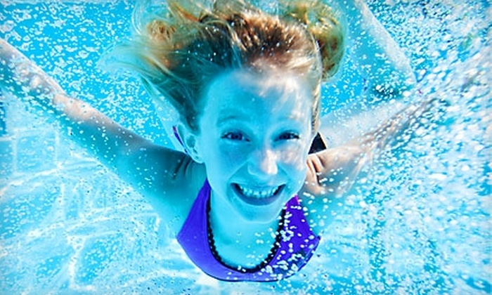 SwimKids Swim School - Multiple Locations: Two-Week Swim Camp at SwimKids Swim School. Two Options Available.