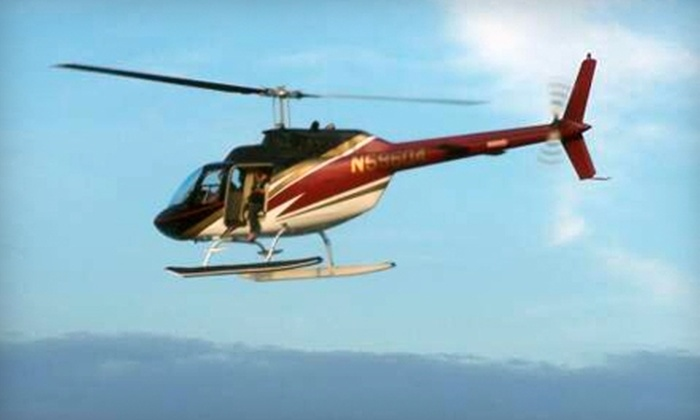 Timberview Helicopters - Multiple Locations: $149 for a 55-Minute Helicopter Flying Lesson from Timberview Helicopters ($299 Value)