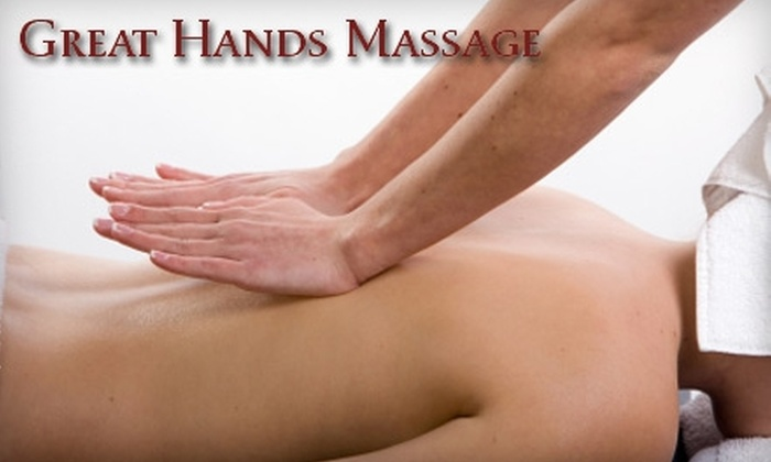 Great Hands Massage Therapy - Bakersfield: $30 for A One-Hour Massage at Great Hands Massage Therapy