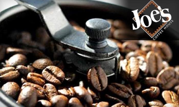 Joe's Coffee House: $15 for $35 Worth of Gourmet Coffees, Teas, and Gifts from Joe's Coffee House