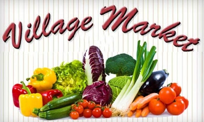 Village Market - Upper Rockridge: $15 for $30 Worth of Upscale Groceries at Village Market in Oakland