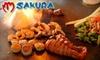 Sakura - Ward 2: $10 for $25 Worth of Sushi, Teppan Dishes, and Drinks at Sakura