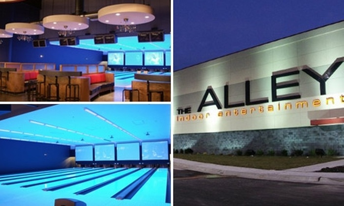 The Alley - Wichita: $8 for Two Games of Bowling, One Pair of Rental Shoes, and a Go-Kart Ride at The Alley