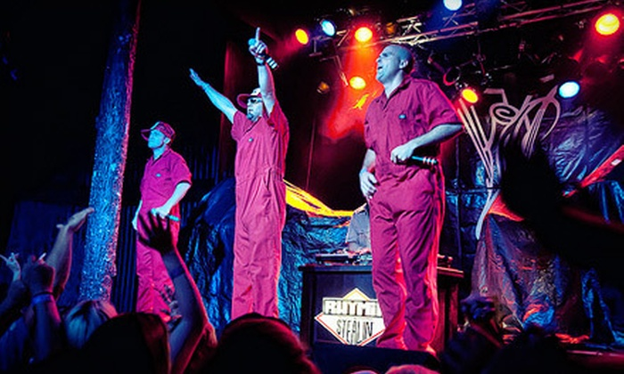 Rhymin' N Stealin' – The Original Beastie Boys Tribute Band - Victory Park: One Ticket to Rhymin' N Stealin' – The Original Beastie Boys Tribute Band at House of Blues Dallas (Up to $16.83 Value)