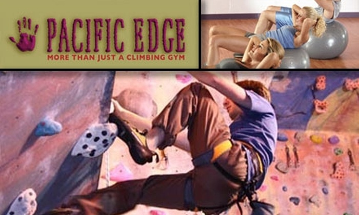 Pacific Edge Climbing Gym - Eastside: $35 for 5 Climbs with Equipment, a 2-Hour Climbing Class, Access to Fitness Equipment & Sauna, and a Yoga Class ($136.50 Value)