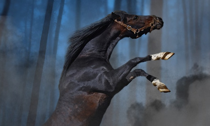 Gulfstream Park - Hallandale Beach: Haunted-Stable Outing for Two at Gulfstream Park's Stables of Terror Haunted House in Hallandale Beach