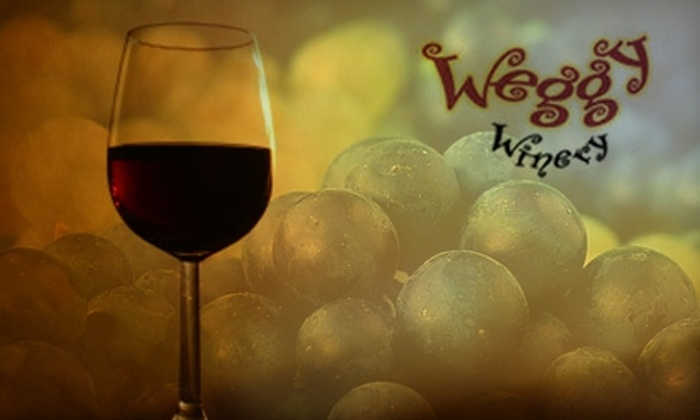 Weggy Winery - Muscoda: Wine Tasting for Two and More at Weggy Winery (Up to $41 Value). Two Options Available.