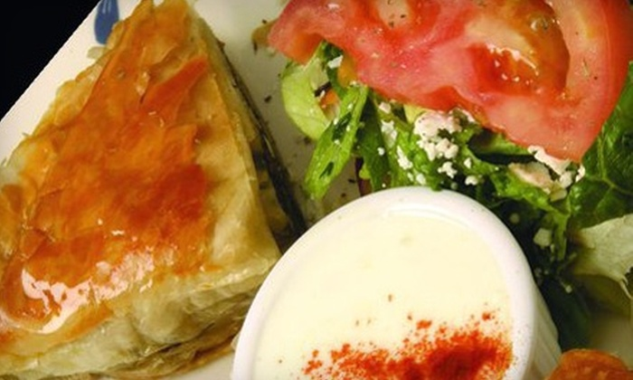 Ayhan's Trodos Mediterranean Restaurant - Port Washington: $15 for $30 Worth of Mediterranean-Fusion Dinner and Drinks at Ayhan's Trodos Mediterranean Restaurant in Westbury