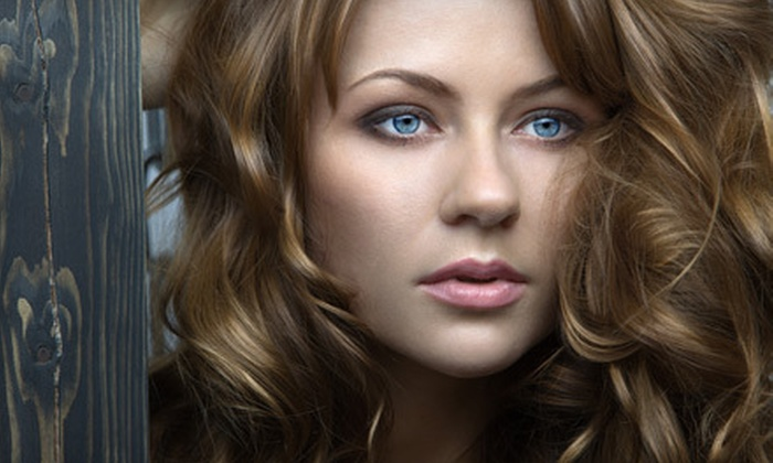 iSalon - Newark: Haircut Package with Style and Deep Conditioning or Style and Color at iSalon in Newark (Up to 59% Off)