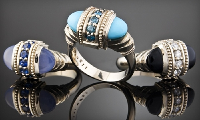 llyn strong fine jewelry - Downtown: $50 for $100 Toward Custom Jewelry and Handcrafted Glassware at llyn strong fine jewelry