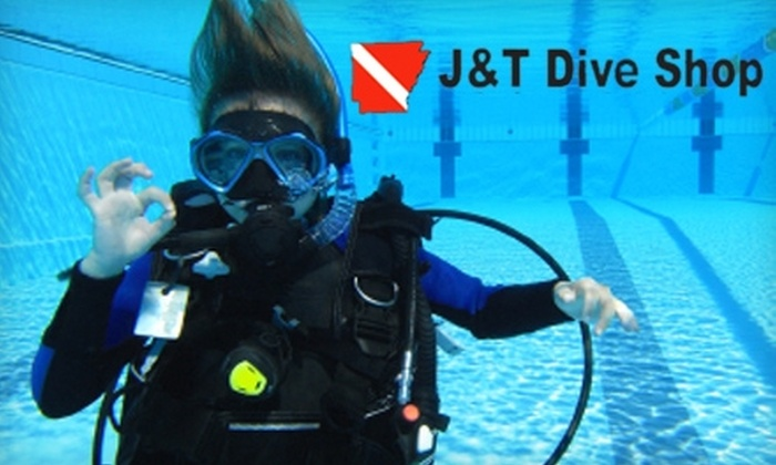 J&T Dive Shop - Jonesboro: $20 for a Discover Scuba Class at J&T Dive Shop ($50 Value)