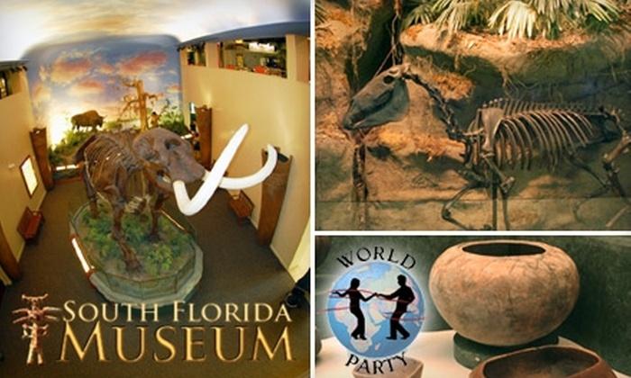 South Florida Museum - Downtown Bradenton: $12 for One Ticket to World Party at South Florida Museum ($25 Value)