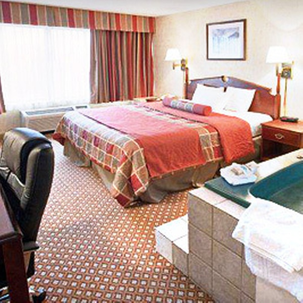 51 Off One Night Jacuzzi Room Stay For Two Wyndham Garden Ann Arbor Groupon