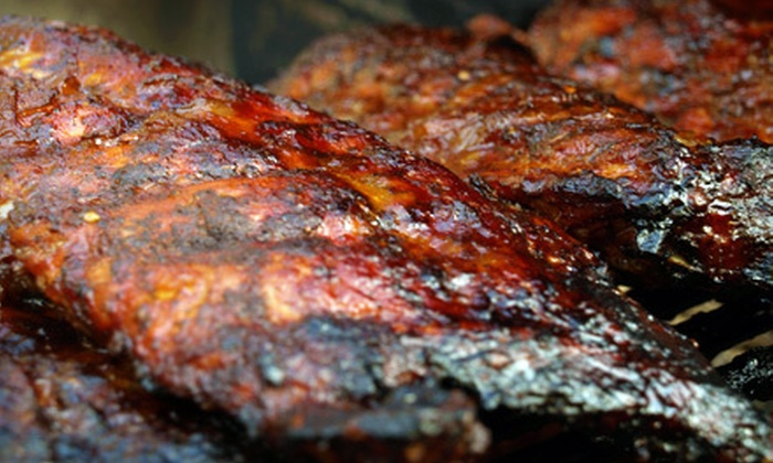 Fatso's Sports Garden - Inspiration Hills: $18 for Barbecue Meal with Brisket, Sausage, Chicken, and Sides or $12 for $25 Worth of Pub Fare at Fatso's Sports Garden