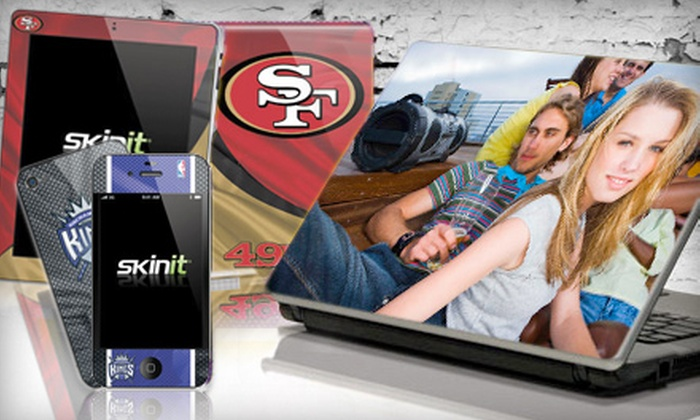 Skinit.com: $15 for $30 Worth of Protective iPod, Laptop, and Phone Skins from Skinit.com