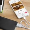 PurTech Credit-Card-Sized 2,500mAh Power Bank (1- or 2-Pack)