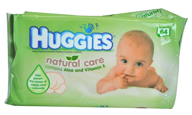 Johnson S Or Huggies Baby Wipes Groupon Goods
