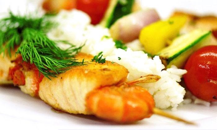 Firebird Russian Restaurant & Gallery - Carmichael: Russian Cuisine for Two or Four at Firebird Russian Restaurant (50% Off)