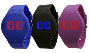 Unisex Touchscreen Digital Led Sports Watch