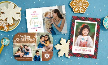 Up to 81% Off Custom  Holiday Photo Cards