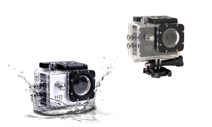 SJCam 1080p Full-HD Waterproof Action Camera and Optional MicroSD Card from $99.99–$119.99