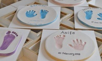 Baby Hand and Foot Clay Imprints with Pottery Yarn (33% Off)