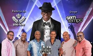 NDB Produções: Live Samba com Fundo de Quintal, Mumuzinho e mais – Rod. Dom Pedro I: 1 ou 2 ingressos