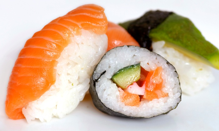Super TGI's Sushi - Anderson West: Sushi and Japanese Cuisine at Super TGI's Sushi (Up to 44% Off). Three Options Available.