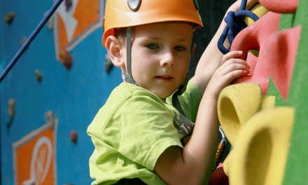 Indoor Rock Climbing for Two or Four People at Mountain Fun (38% Off)