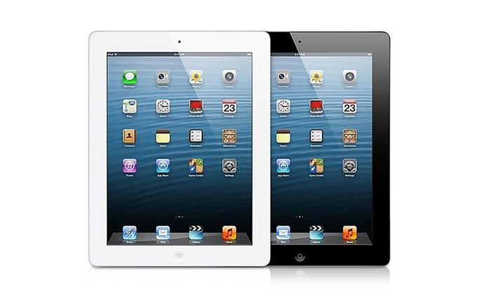 Apple iPad 4 (Refurbished). WiFi or 4G GSM-Unlocked Models from $249.99–$309.99