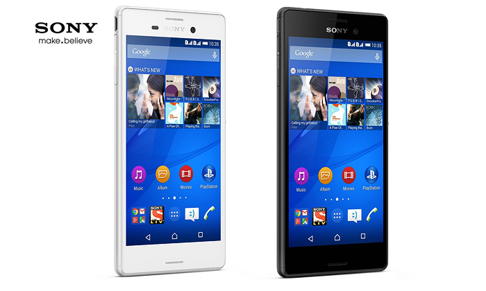 Rs.19899 for a 16GB Sony Xperia M4 Aqua Dual. Choose from 2 Colors