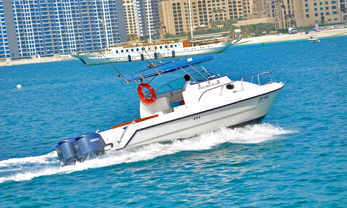 Asfar Renting Boats and Cruise Ships - Dubai: Private Boat Cruise For Ten People from AED 349 With Asfar Renting Boats and Cruise Ships (Up to 52% Off)