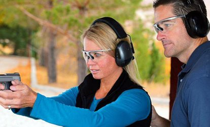 image for Introduction to Firearm Shooting and Training for Two or Four at the Lennoxville Rifle Club (Up to 62% Off)
