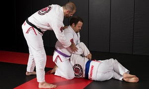 Great Grappling Brazilian Jiu Jitsu: One Month of Adult or Kids' Classes or10 Drop-In Classes at Great Grappling Brazilian Jiu Jitsu (Up to 67% Off)