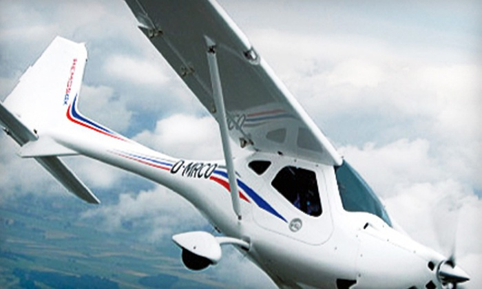 Pilot Journey - Pittsfield: $65 for an Introductory Discovery Flight Package from Pilot Journey ($129.95 Value)