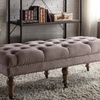 "Isabelle 50"" Tufted Bench"