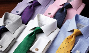 Charles Tyrwhitt: $50 or $100 to Spend on Shirts and Menswear at Charles Tyrwhitt (50% Off)